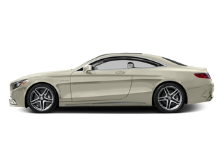 designo Diamond White Metallic 2017 Mercedes-Benz S-Class Pictures S-Class 2 Door Coupe photos side view