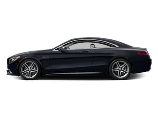 Anthracite Blue Metallic 2017 Mercedes-Benz S-Class Pictures S-Class 2 Door Coupe photos side view