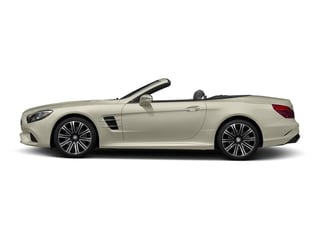 designo Diamond White Metallic 2017 Mercedes-Benz SL Pictures SL Roadster 2D SL450 V6 Turbo photos side view