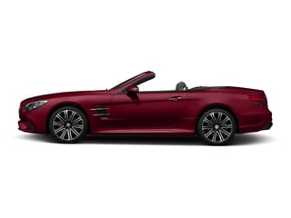 designo Cardinal Red Metallic 2017 Mercedes-Benz SL Pictures SL Roadster 2D SL450 V6 Turbo photos side view