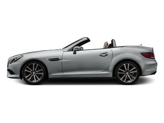 Iridium Silver Metallic 2017 Mercedes-Benz SLC Pictures SLC Roadster 2D SLC300 I4 Turbo photos side view