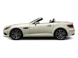 designo Diamond White Metallic 2017 Mercedes-Benz SLC Pictures SLC Roadster 2D SLC300 I4 Turbo photos side view