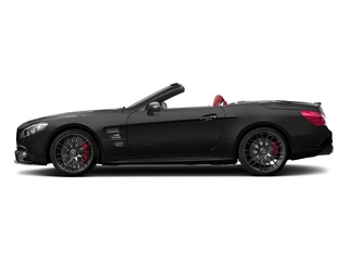 Magnetite Black Metallic 2017 Mercedes-Benz SL Pictures SL AMG SL 63 Roadster photos side view