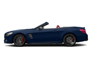 Brilliant Blue 2017 Mercedes-Benz SL Pictures SL AMG SL 63 Roadster photos side view