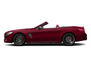 designo Cardinal Red Metallic 2017 Mercedes-Benz SL Pictures SL AMG SL 63 Roadster photos side view
