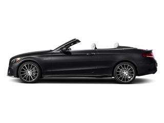 Black 2017 Mercedes-Benz C-Class Pictures C-Class AMG C 43 4MATIC Cabriolet photos side view