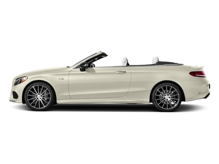 designo Diamond White Metallic 2017 Mercedes-Benz C-Class Pictures C-Class AMG C 43 4MATIC Cabriolet photos side view