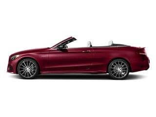 designo Cardinal Red Metallic 2017 Mercedes-Benz C-Class Pictures C-Class AMG C 43 4MATIC Cabriolet photos side view
