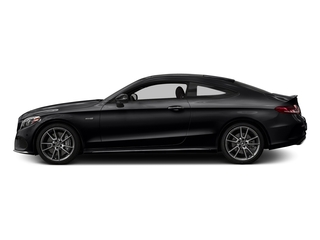 Black 2017 Mercedes-Benz C-Class Pictures C-Class Coupe 2D C43 AMG AWD V6 Turbo photos side view