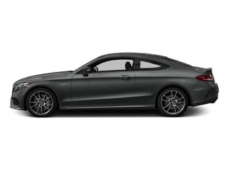 Selenite Grey Metallic 2017 Mercedes-Benz C-Class Pictures C-Class AMG C 43 4MATIC Coupe photos side view