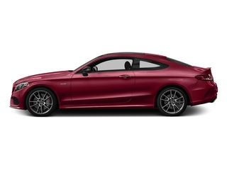 designo Cardinal Red Metallic 2017 Mercedes-Benz C-Class Pictures C-Class Coupe 2D C43 AMG AWD V6 Turbo photos side view