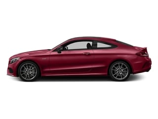 designo Cardinal Red Metallic 2017 Mercedes-Benz C-Class Pictures C-Class AMG C 43 4MATIC Coupe photos side view