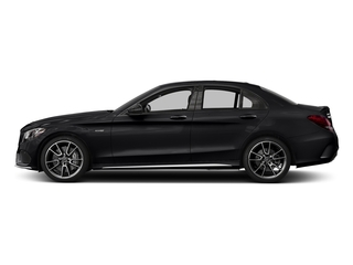 Black 2017 Mercedes-Benz C-Class Pictures C-Class Sedan 4D C43 AMG AWD V6 Turbo photos side view