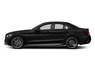Obsidian Black Metallic 2017 Mercedes-Benz C-Class Pictures C-Class Sedan 4D C43 AMG AWD V6 Turbo photos side view