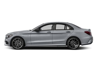 Diamond Silver Metallic 2017 Mercedes-Benz C-Class Pictures C-Class Sedan 4D C43 AMG AWD V6 Turbo photos side view
