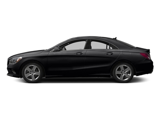 Cosmos Black Metallic 2017 Mercedes-Benz CLA Pictures CLA Sedan 4D CLA250 I4 Turbo photos side view