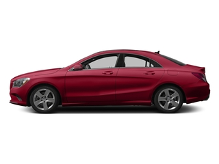 Jupiter Red 2017 Mercedes-Benz CLA Pictures CLA Sedan 4D CLA250 I4 Turbo photos side view