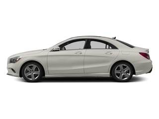 Cirrus White 2017 Mercedes-Benz CLA Pictures CLA Sedan 4D CLA250 I4 Turbo photos side view