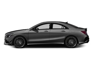 Mountain Grey Metallic 2017 Mercedes-Benz CLA Pictures CLA Sedan 4D CLA45 AMG AWD I4 Turbo photos side view