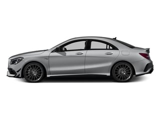 designo Magno Polar Silver (Matte Finish) 2017 Mercedes-Benz CLA Pictures CLA Sedan 4D CLA45 AMG AWD I4 Turbo photos side view