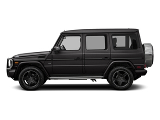 designo Platinum Black 2017 Mercedes-Benz G-Class Pictures G-Class 4 Door Utility 4Matic photos side view