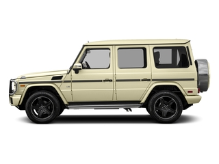 Light Ivory 2017 Mercedes-Benz G-Class Pictures G-Class 4 Door Utility 4Matic photos side view