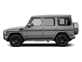 Iridium Silver Metallic 2017 Mercedes-Benz G-Class Pictures G-Class 4 Door Utility 4Matic photos side view