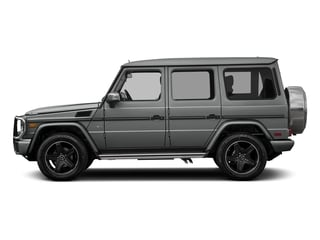 Palladium Silver Metallic 2017 Mercedes-Benz G-Class Pictures G-Class 4 Door Utility 4Matic photos side view