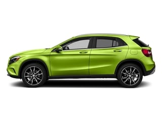 Kryptonite Green Metallic 2017 Mercedes-Benz GLA Pictures GLA GLA 250 4MATIC SUV photos side view