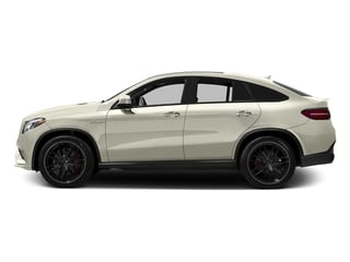 Polar White 2017 Mercedes-Benz GLE Pictures GLE AMG GLE 63 S 4MATIC Coupe photos side view