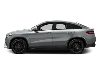 Iridium Silver Metallic 2017 Mercedes-Benz GLE Pictures GLE AMG GLE 63 S 4MATIC Coupe photos side view
