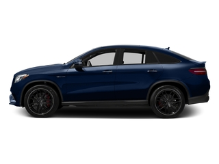Brilliant Blue Metallic 2017 Mercedes-Benz GLE Pictures GLE AMG GLE 63 S 4MATIC Coupe photos side view