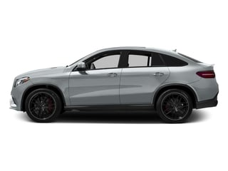 Diamond Silver Metallic 2017 Mercedes-Benz GLE Pictures GLE AMG GLE 63 S 4MATIC Coupe photos side view