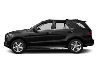 Obsidian Black Metallic 2017 Mercedes-Benz GLE Pictures GLE Utility 4D GLE300 AWD I4 Diesel photos side view