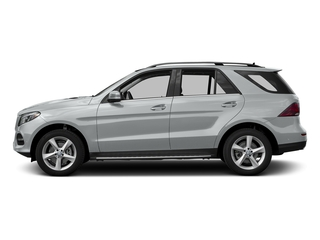 Iridium Silver Metallic 2017 Mercedes-Benz GLE Pictures GLE Utility 4D GLE300 AWD I4 Diesel photos side view