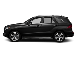 Obsidian Black Metallic 2017 Mercedes-Benz GLE Pictures GLE GLE 350 4MATIC SUV photos side view