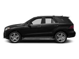 Black 2017 Mercedes-Benz GLE Pictures GLE Utility 4D GLE400 AWD V6 photos side view