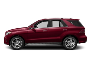 designo Cardinal Red Metallic 2017 Mercedes-Benz GLE Pictures GLE Utility 4D GLE400 AWD V6 photos side view