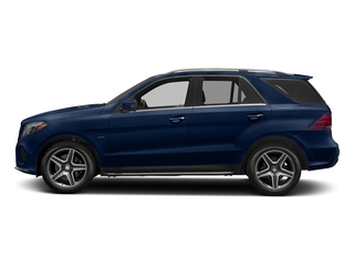 Brilliant Blue Metallic 2017 Mercedes-Benz GLE Pictures GLE Utility 4D GLE550 Plug-In AWD V6 photos side view