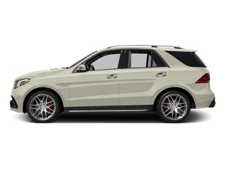 designo Diamond White Metallic 2017 Mercedes-Benz GLE Pictures GLE AMG GLE 63 4MATIC SUV photos side view