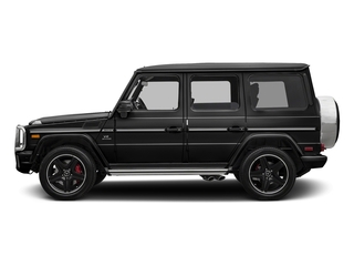 Magnetite Black Metallic 2017 Mercedes-Benz G-Class Pictures G-Class AMG G 63 4MATIC SUV photos side view