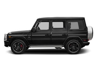 Obsidian Black Metallic 2017 Mercedes-Benz G-Class Pictures G-Class AMG G 63 4MATIC SUV photos side view