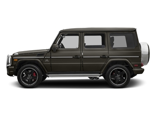 designo Sintered Bronze Magno (Matte Finish) 2017 Mercedes-Benz G-Class Pictures G-Class AMG G 63 4MATIC SUV photos side view