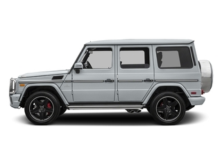 Diamond Silver Metallic 2017 Mercedes-Benz G-Class Pictures G-Class AMG G 63 4MATIC SUV photos side view