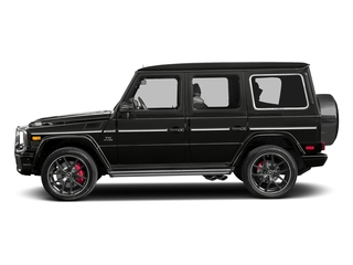 designo Magno Night Black (Matte Finish) 2017 Mercedes-Benz G-Class Pictures G-Class 4 Door Utility 4Matic photos side view