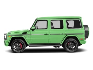 Alien Green 2017 Mercedes-Benz G-Class Pictures G-Class AMG G 65 4MATIC SUV photos side view