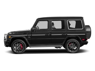 Obsidian Black Metallic 2017 Mercedes-Benz G-Class Pictures G-Class 4 Door Utility 4Matic photos side view