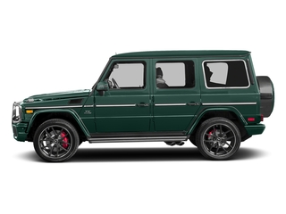 Agate Green 2017 Mercedes-Benz G-Class Pictures G-Class 4 Door Utility 4Matic photos side view