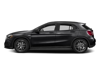 Night Black 2017 Mercedes-Benz GLA Pictures GLA Utility 4D GLA45 AMG AWD I4 Turbo photos side view