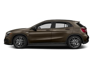 Cocoa Brown Metallic 2017 Mercedes-Benz GLA Pictures GLA Utility 4D GLA45 AMG AWD I4 Turbo photos side view